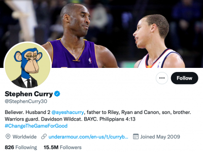 Stephen Curry Twitter